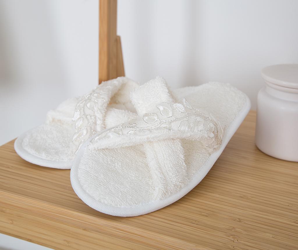 Set textile pentru baie 4 piese Mimosa Ecru