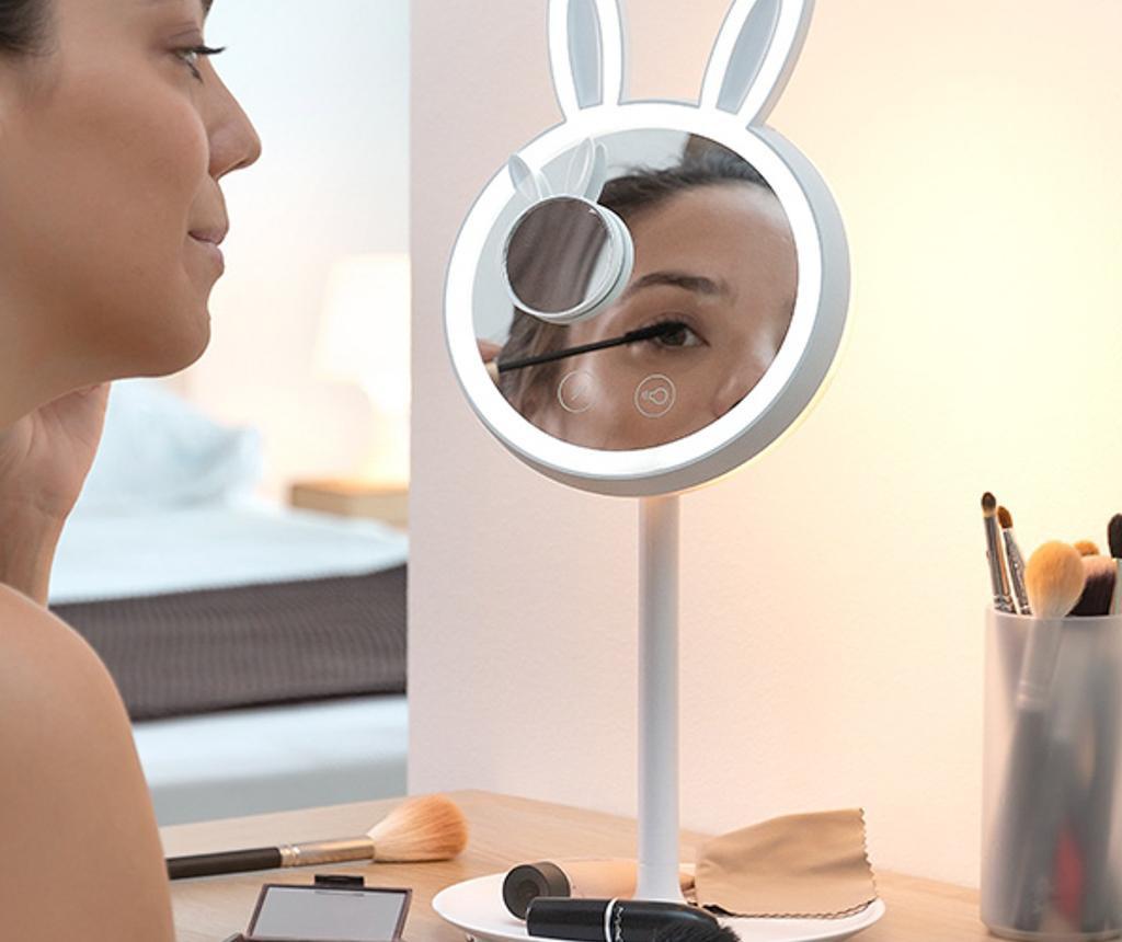 Oglinda cosmetica 2 in 1 cu LED Mirrobbit