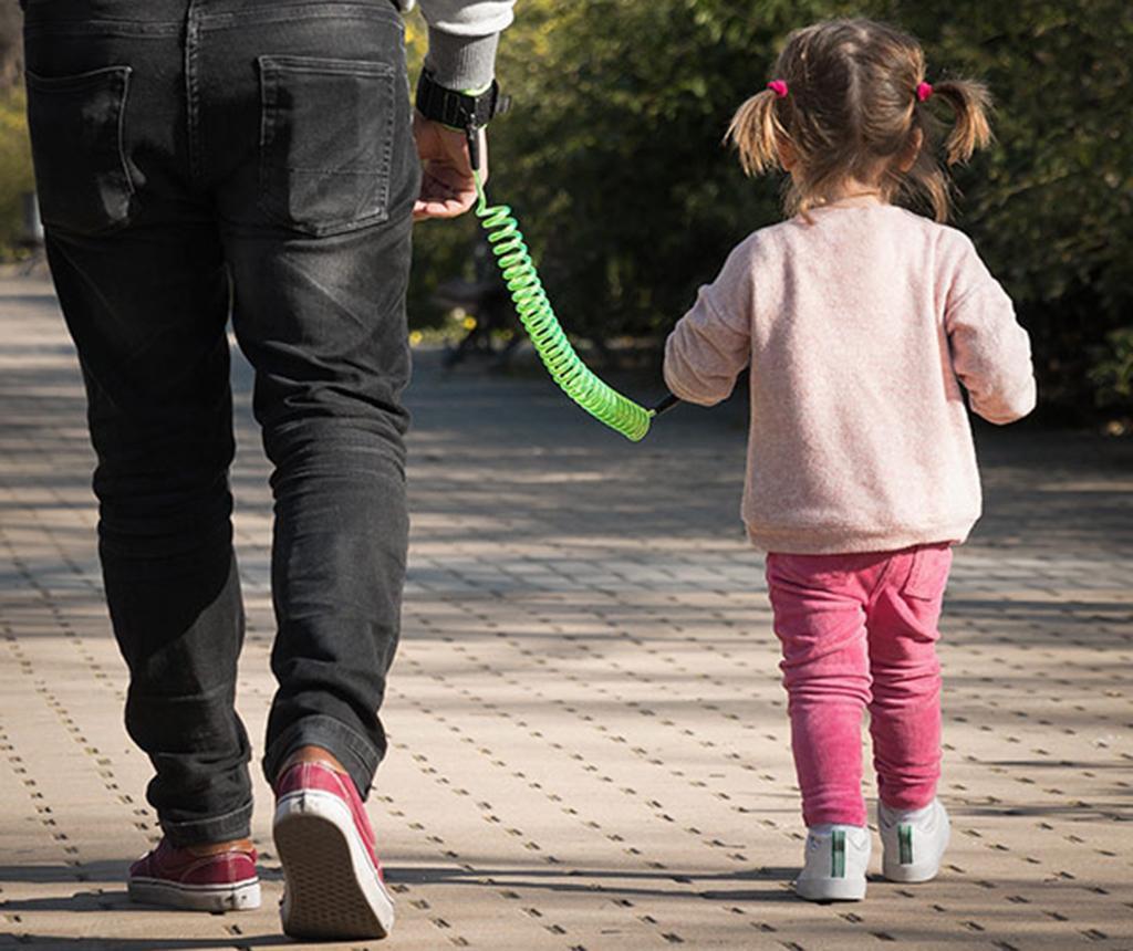 Bratara siguranta copii New Green