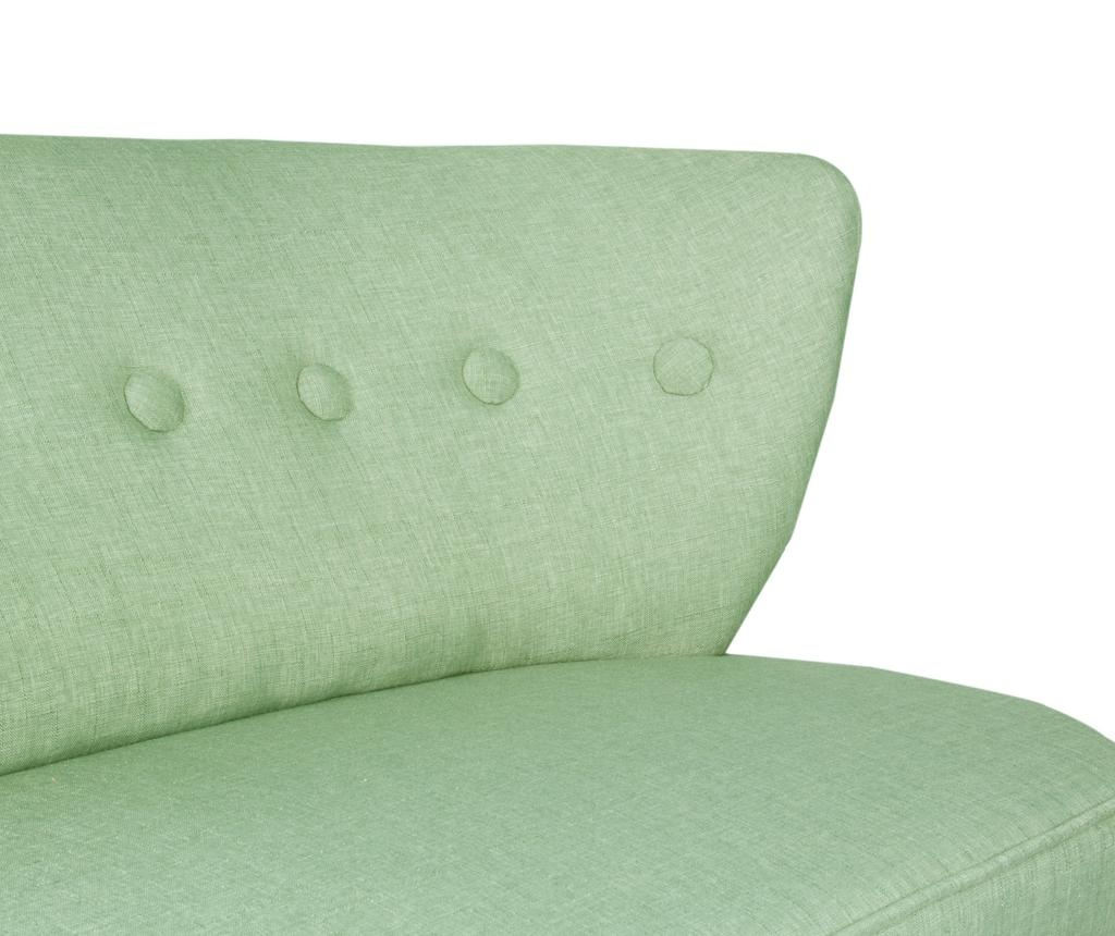 Canapea 2 locuri Josephine Petrol Green