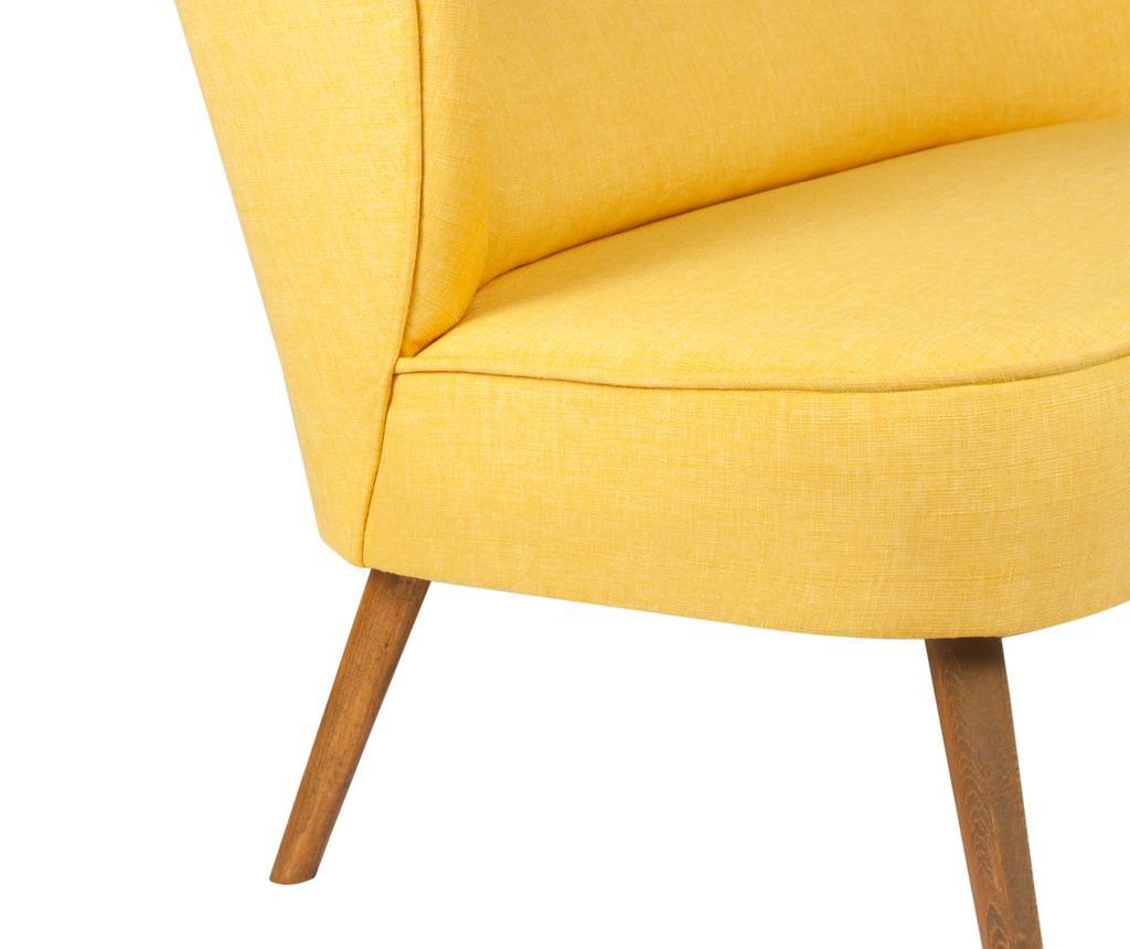 Canapea 2 locuri Josephine Yellow