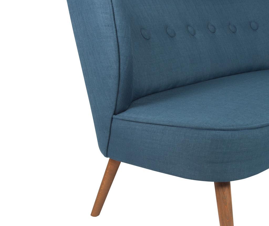 Josephine Night Blue Kétszemélyes kanapé