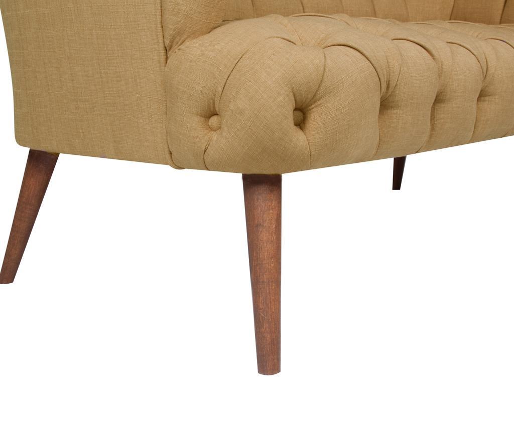 Beatrice Light Brown Kétszemélyes kanapé