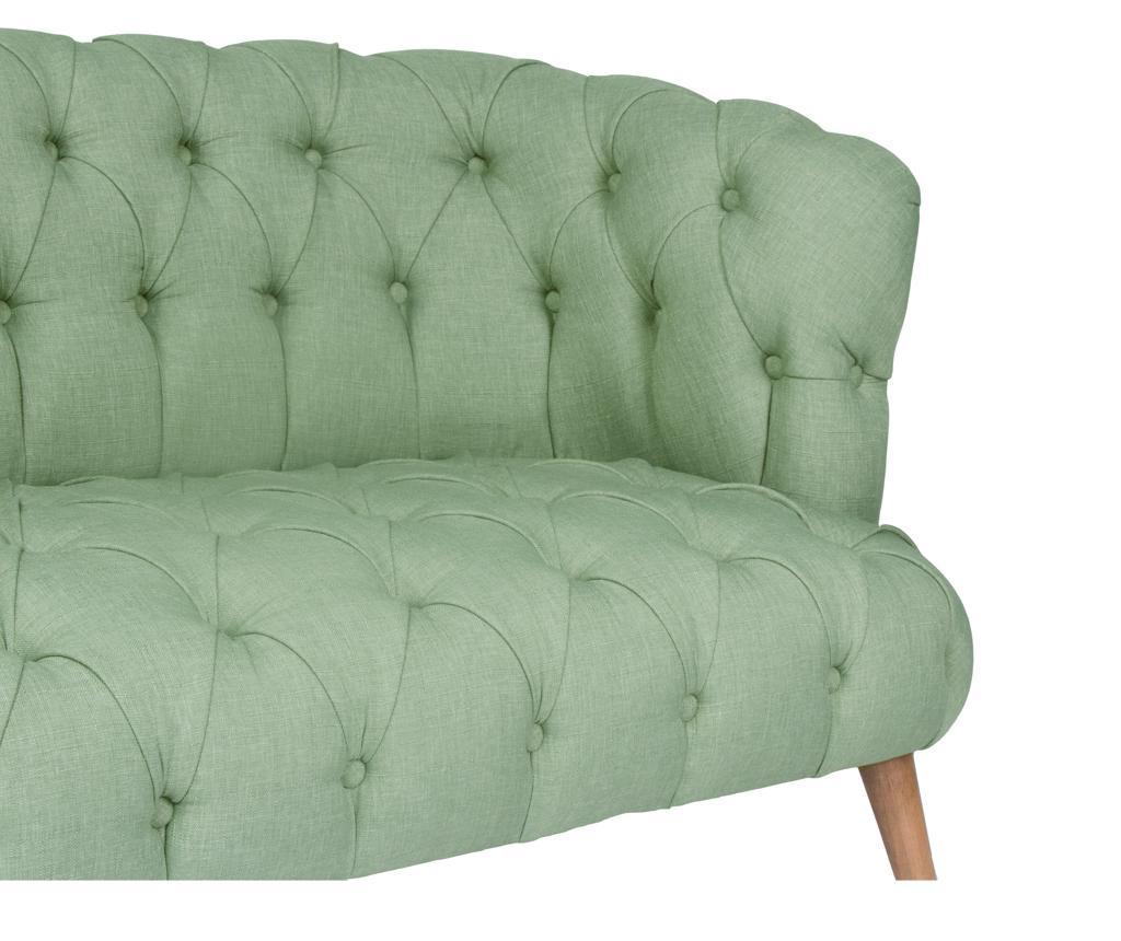 Kauč dvosjed Beatrice Petrol Green