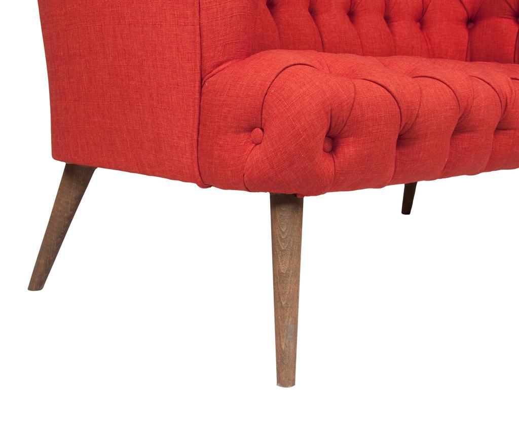 Beatrice Brick Red Kétszemélyes kanapé