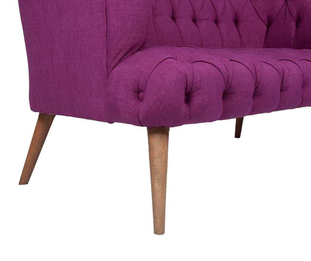 Beatrice Purple Kétszemélyes kanapé