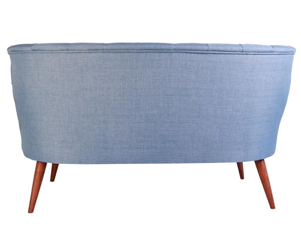 Canapea 2 locuri Sophia Indigo Blue