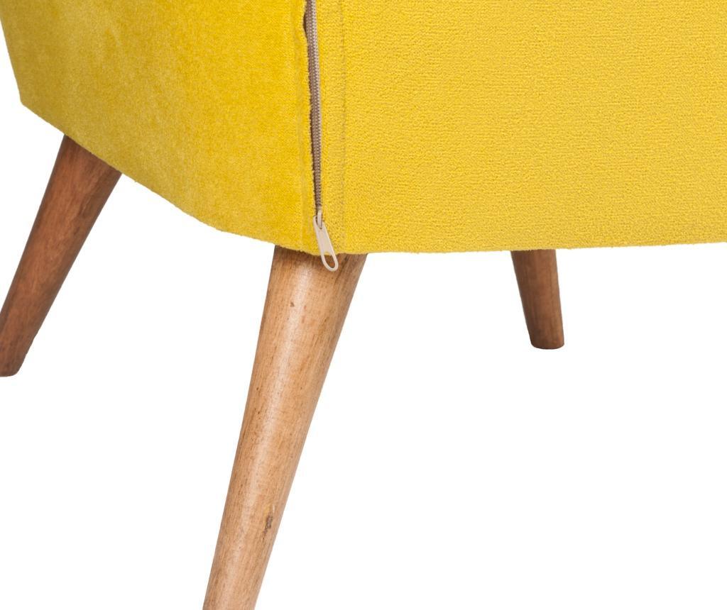 Lake Mustard Yellow Kisszék