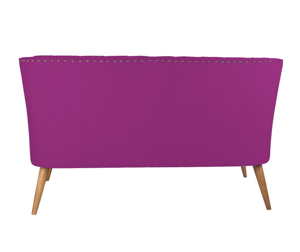 Penelope Purple Kétszemélyes kanapé