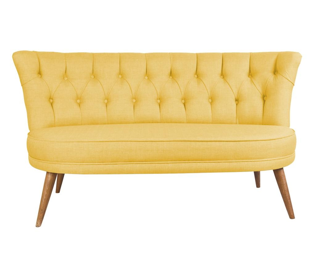 Kauč dvosjed Sophia Yellow