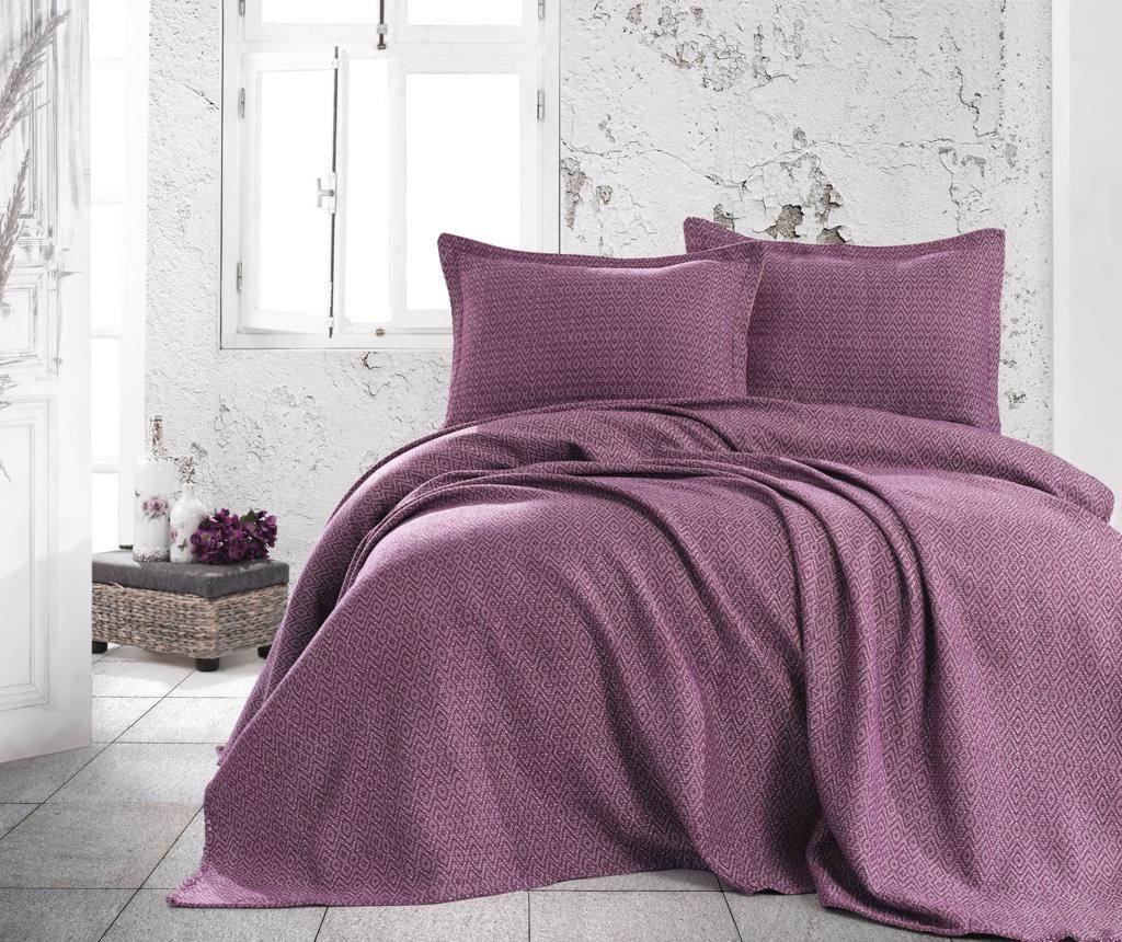 Set cuvertura Double Extra Wide Venus Purple