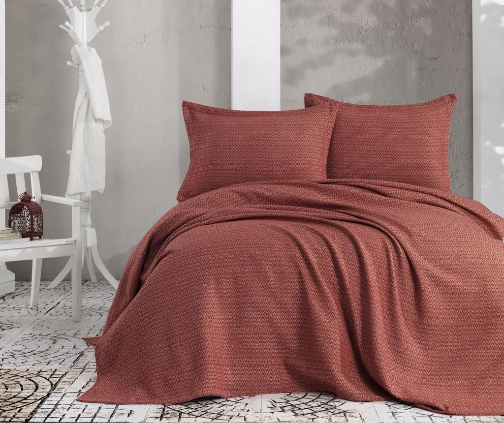 Set cuvertura Double Extra Wide Venus Red