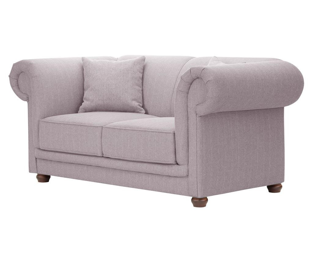 Canapea 2 locuri Aubusson Lilac