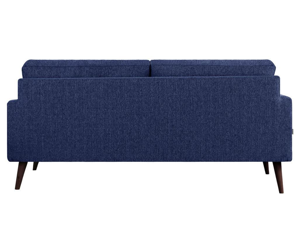 Canapea 3 locuri Beaver Navy Blue