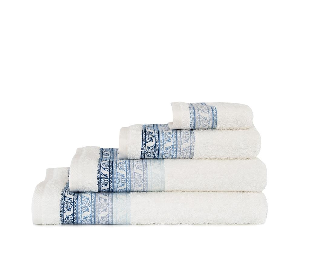 Ręcznik kąpielowy Tile Ecru 30x50 cm