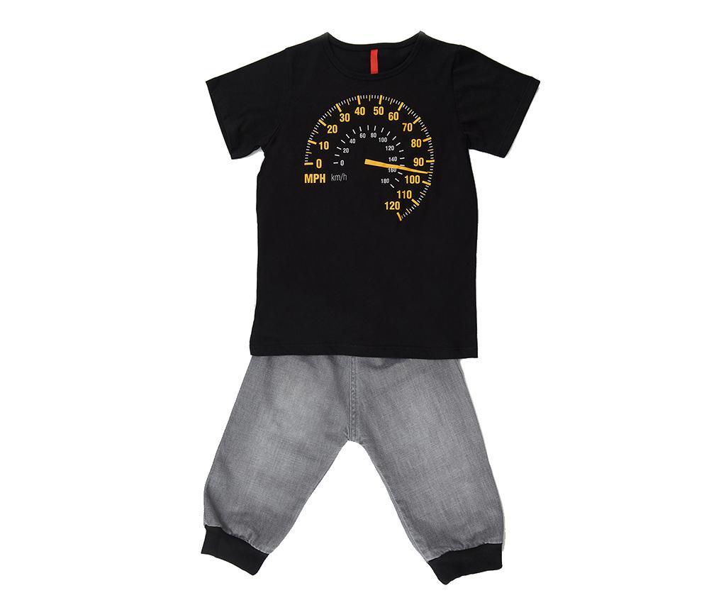 Otroški komplet - majica s kratkimi rokavi in hlače Faster 9 let