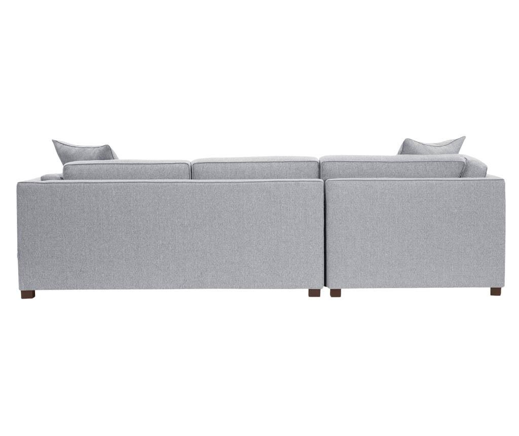 Coltar stanga Organdi Big Angle Grey