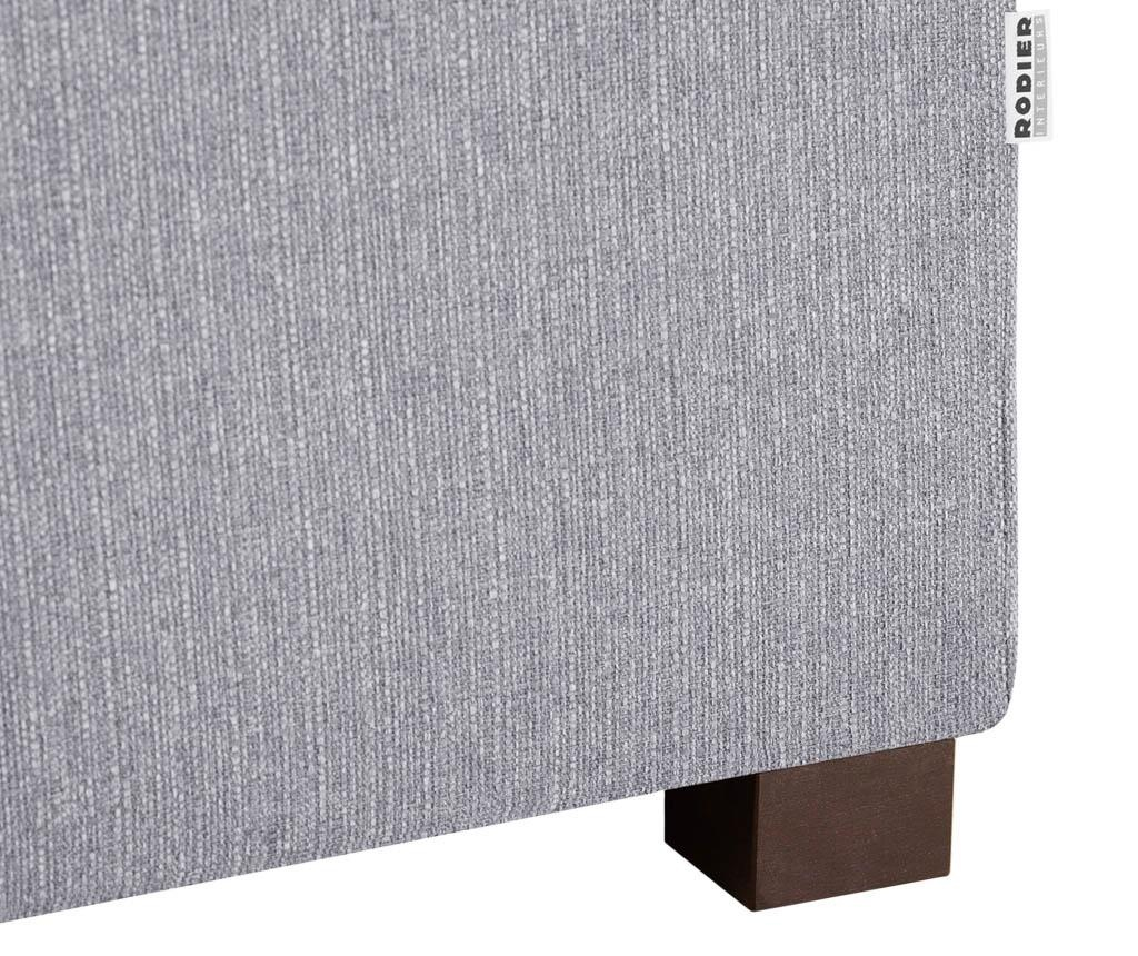 Sezlong living dreapta Organdi Big Grey