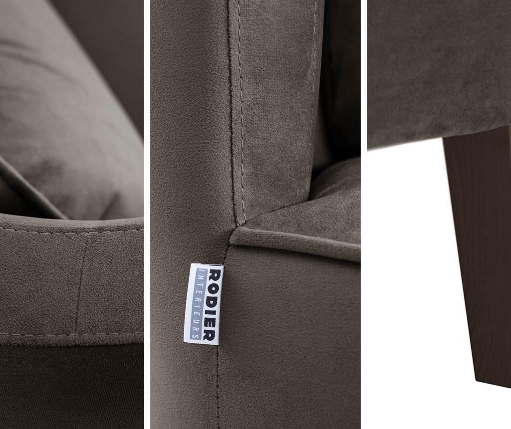 Canapea 2 locuri Organza Grey