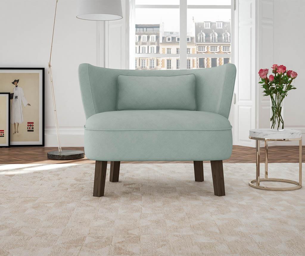 Canapea 2 locuri Organza Blue