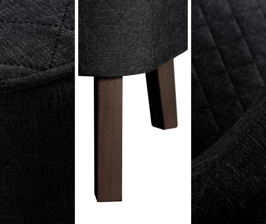 Двуместно канапе Percale Black