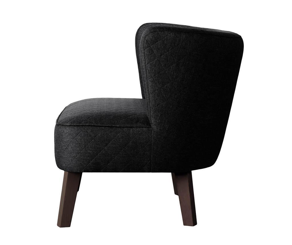 Canapea 2 locuri Percale Black