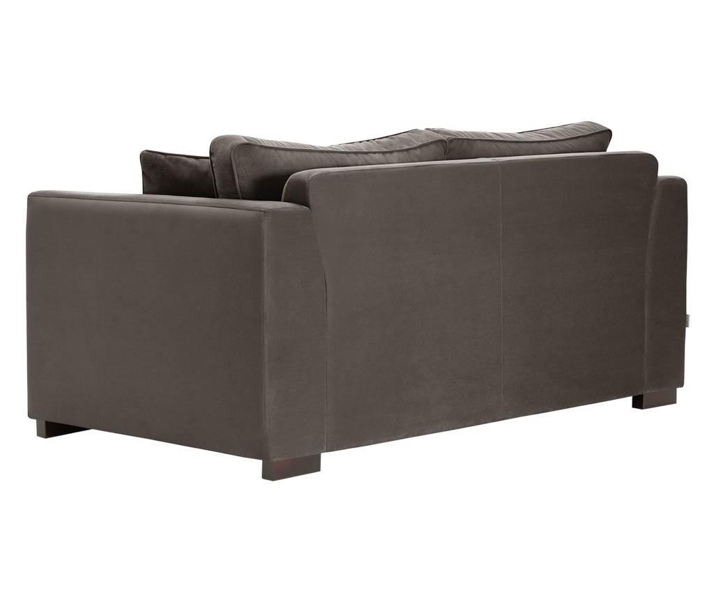 Canapea 2 locuri Taffetas Grey