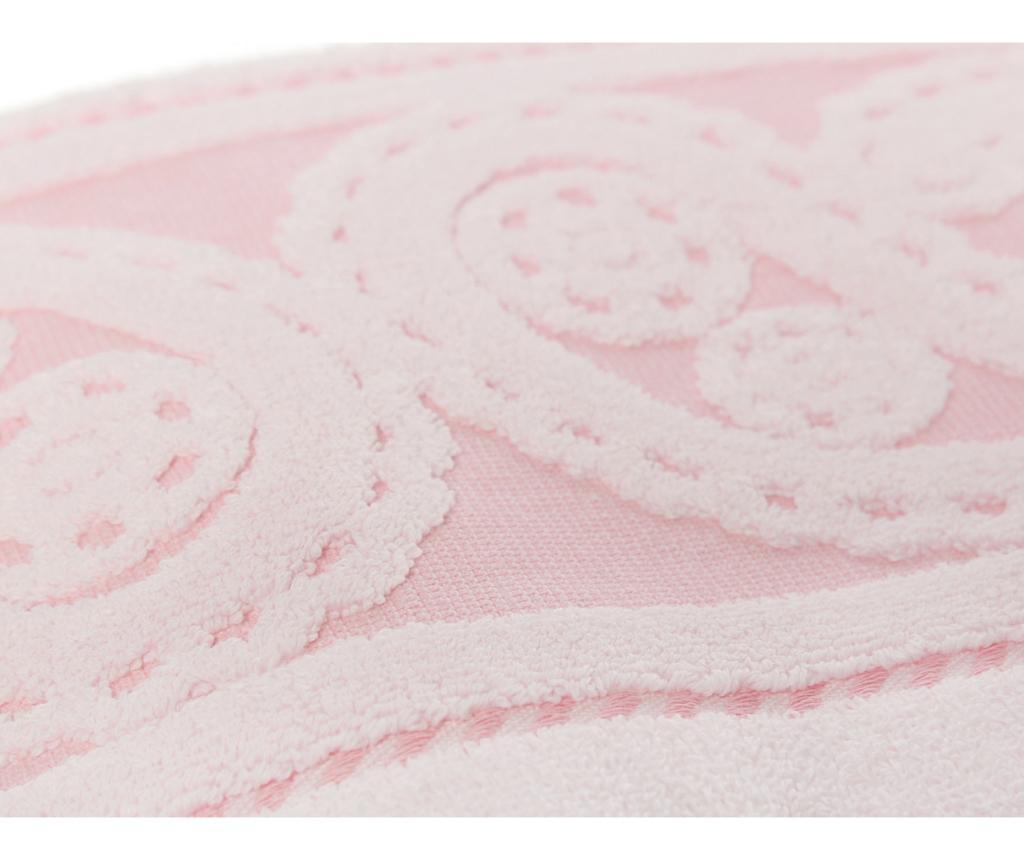 Set 2 prosoape de baie Hurrem Dark Pink 50x90 cm