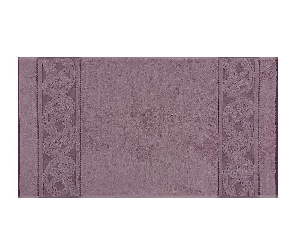 Set 2 prosoape de baie Hurrem Lilac 50x90 cm