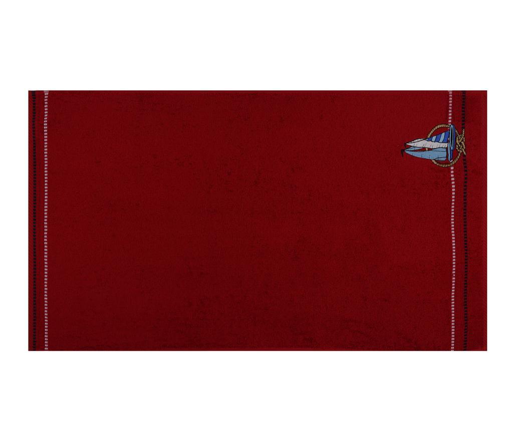 Set 2 prosoape de baie Ferry Red 50x90 cm