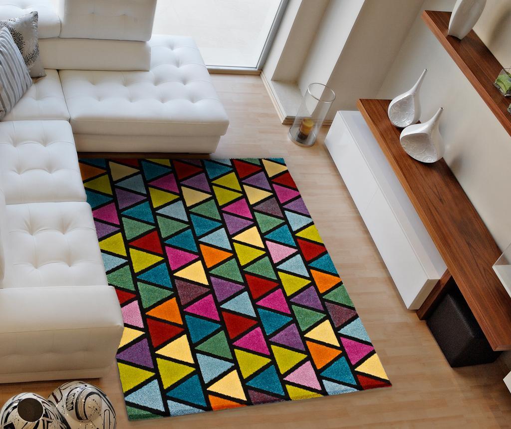 Covor Happy Triangles 80x150 cm