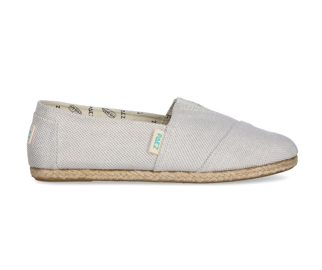 Espadrile dama Classic Day & Sparks Silver 41