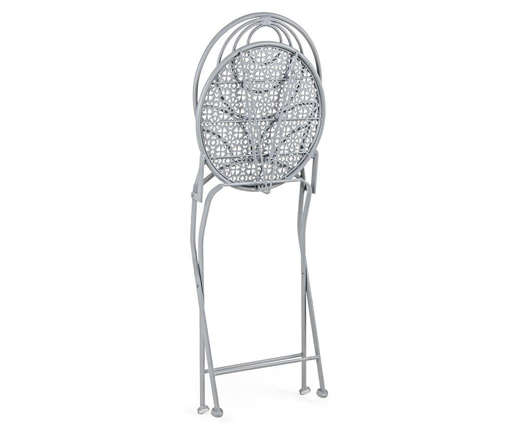 Scaun pliabil pentru exterior Marlene Grey