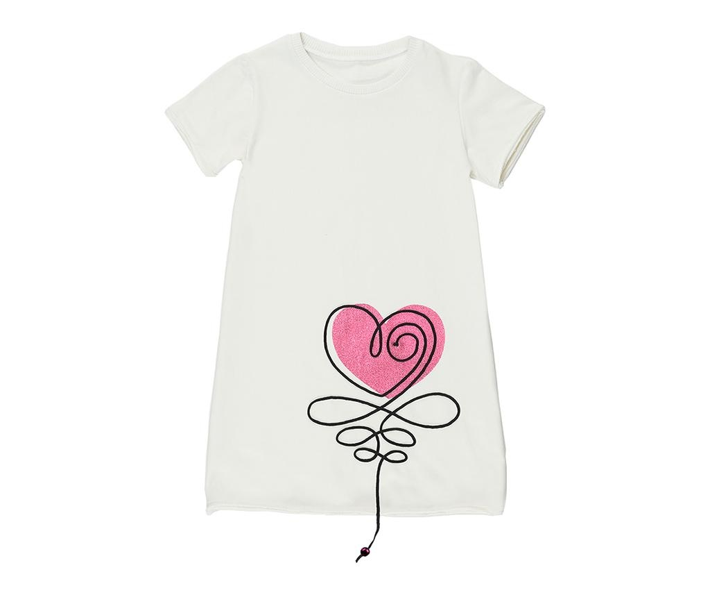 Otroška obleka Heart 4 let