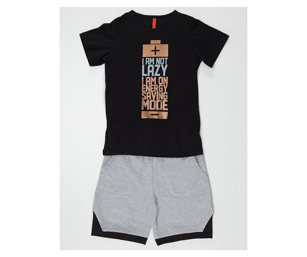 Otroški komplet - majica s kratkimi rokavi in hlače Saving Mode 8 let