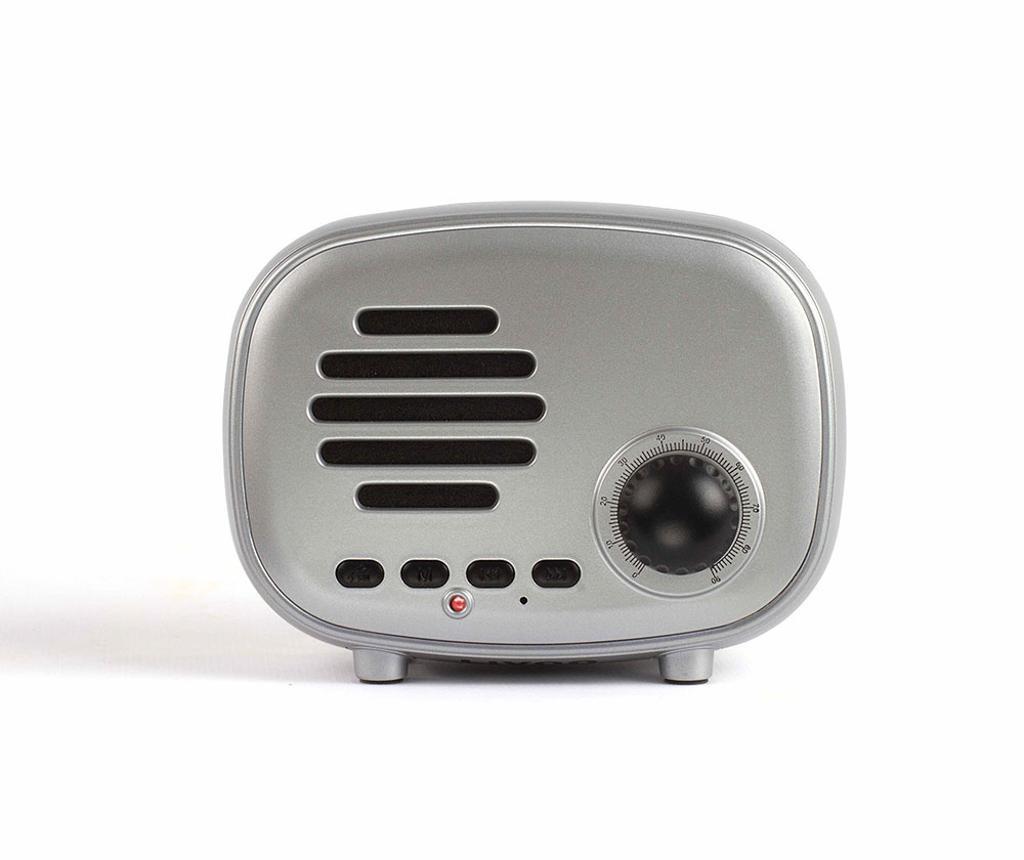 Boxa portabila cu Bluetooth Radio Silver
