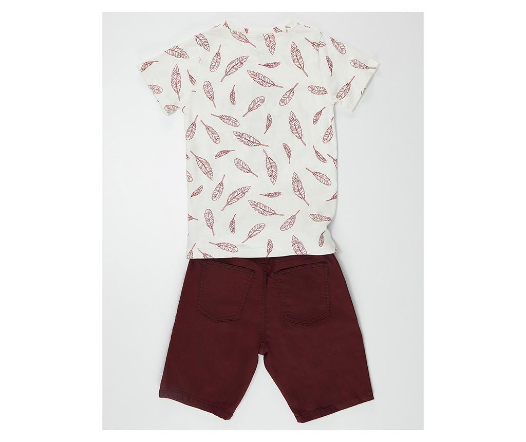 Set tricou si pantaloni pentru copii Be Free 9 ani