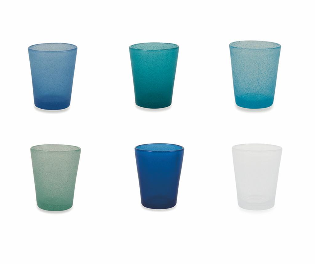 Сервиз 6 чаши за вода Cancun Marea 330 мл