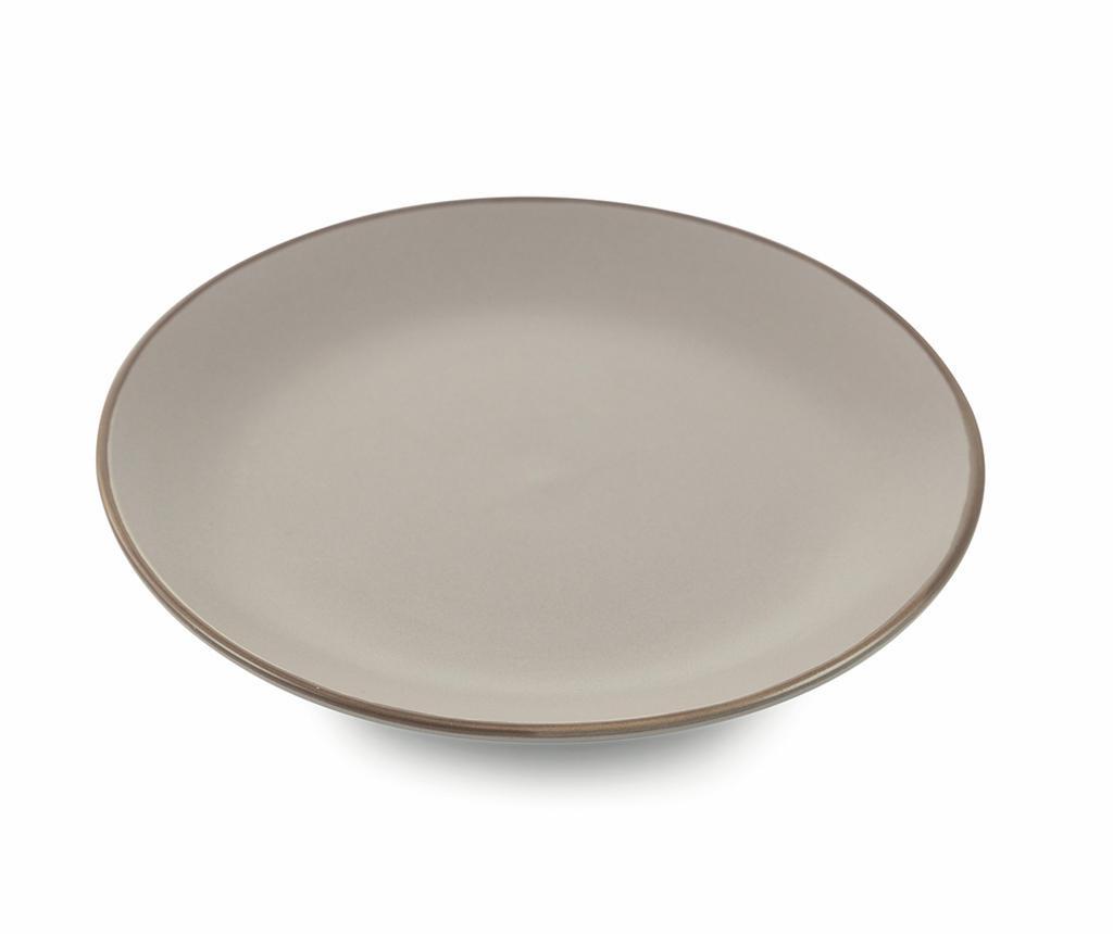 Сервиз 6 десертни чинии Kora Grey