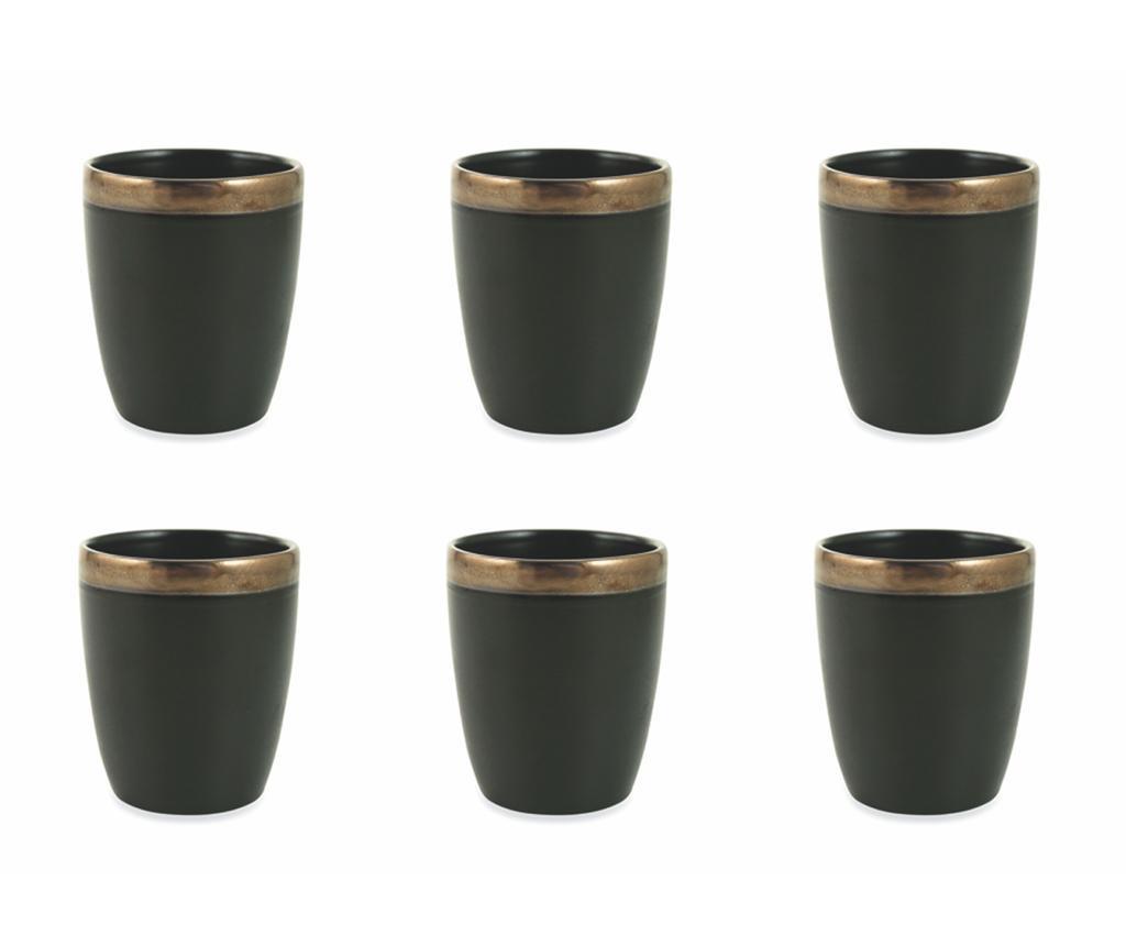 Сервиз 6 чаши за вода Naima Gold