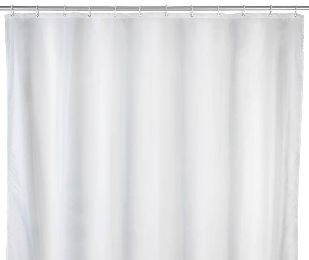 Zavesa za prho Carry White 120x200 cm