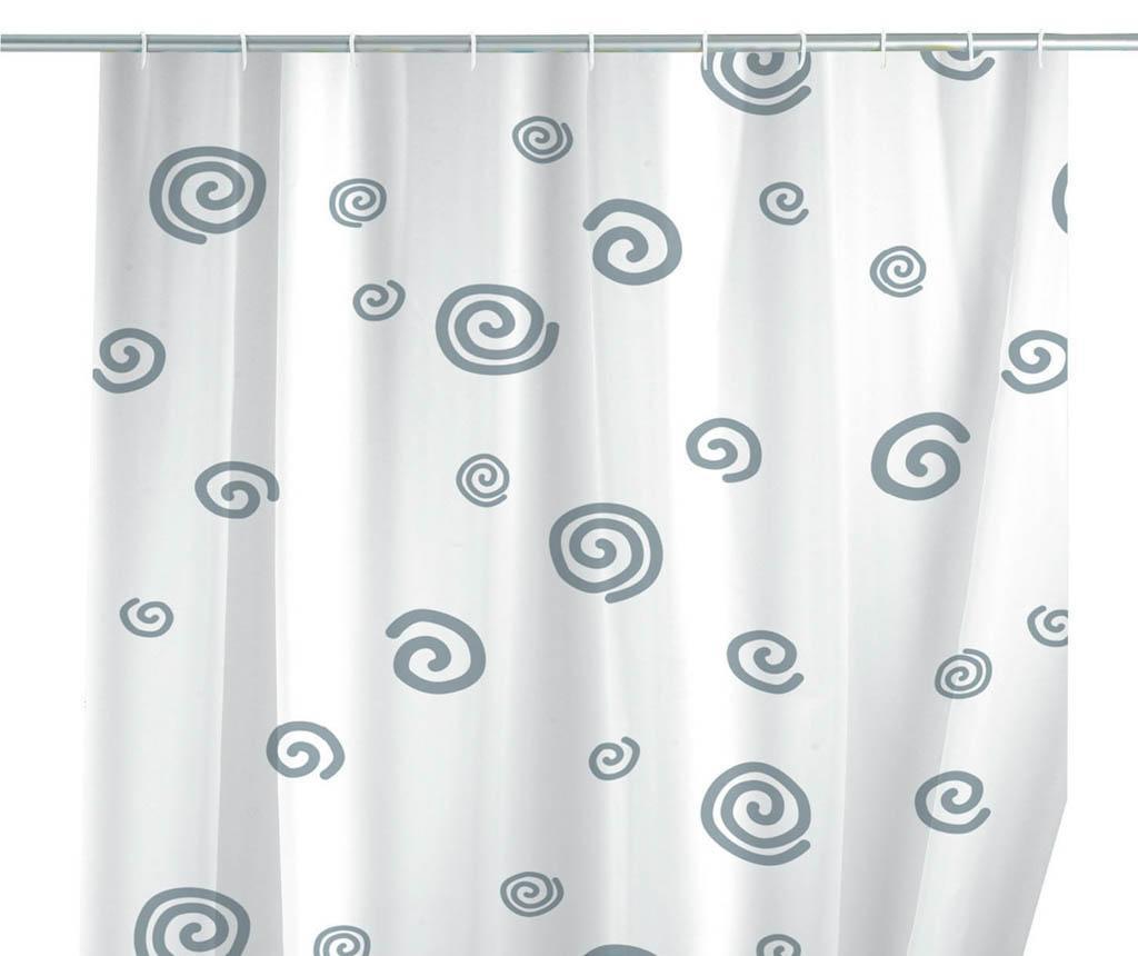 Zasłona prysznicowa Snail 180x200 cm