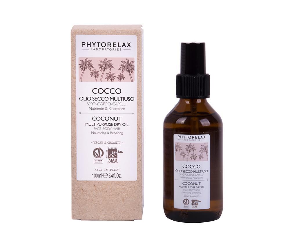 Ulei hidratant pentru corp si par Phytorelax Coconut 100 ml