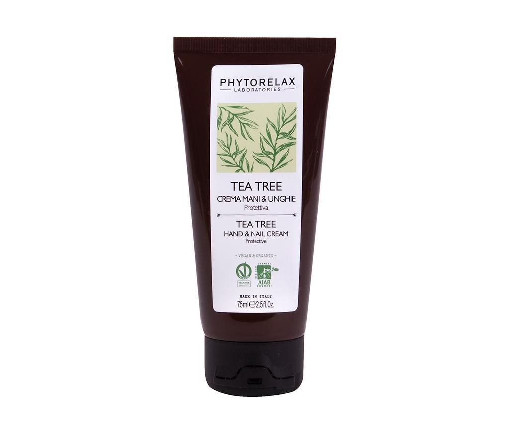Crema pentru maini si unghii Phytorelax Tea Tree 75 ml