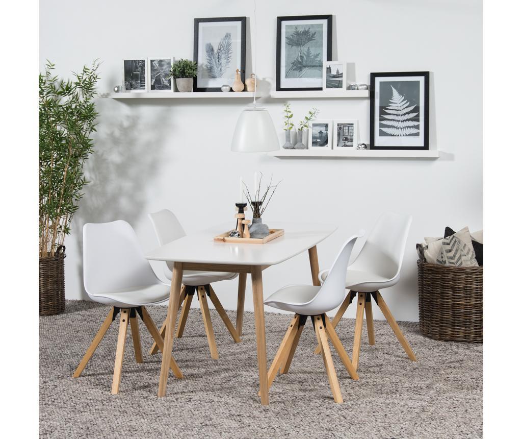 Set 2 scaune Dima White
