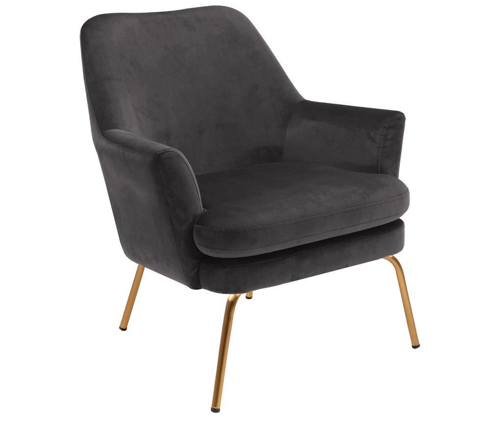 Fotelja Chisa Golden Grey