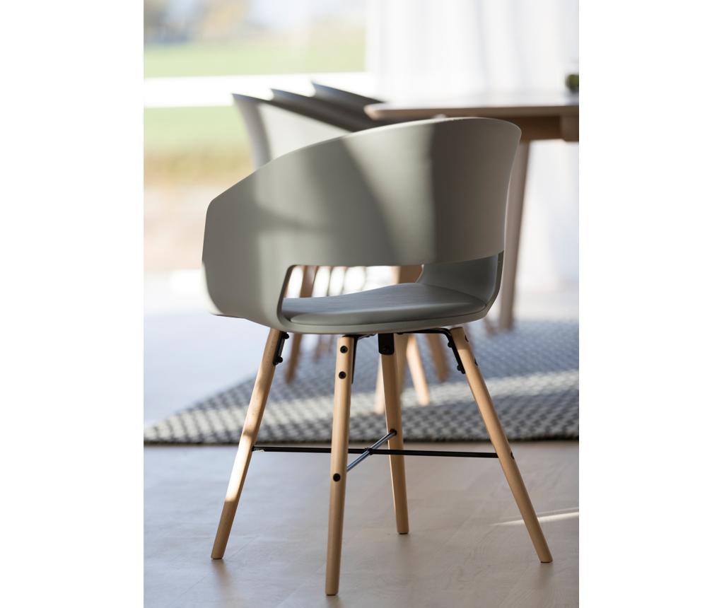 Set 2 stolice Luna Grey