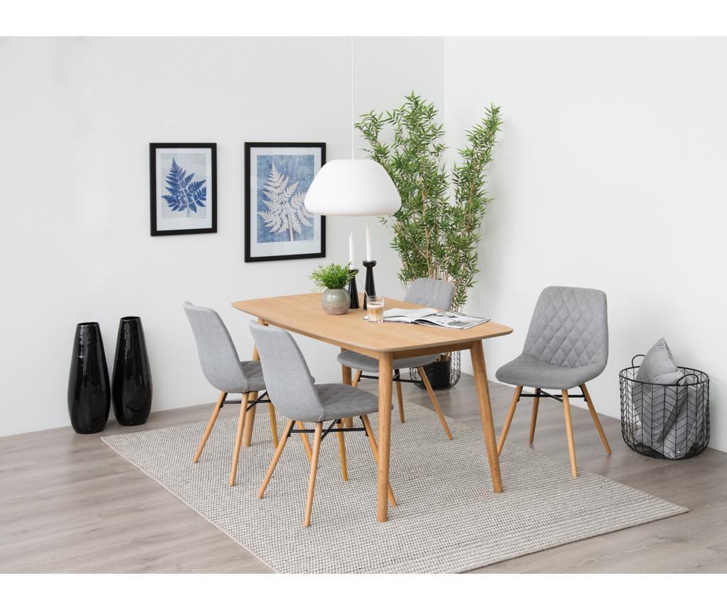Set 2 stolice Lif Light Grey