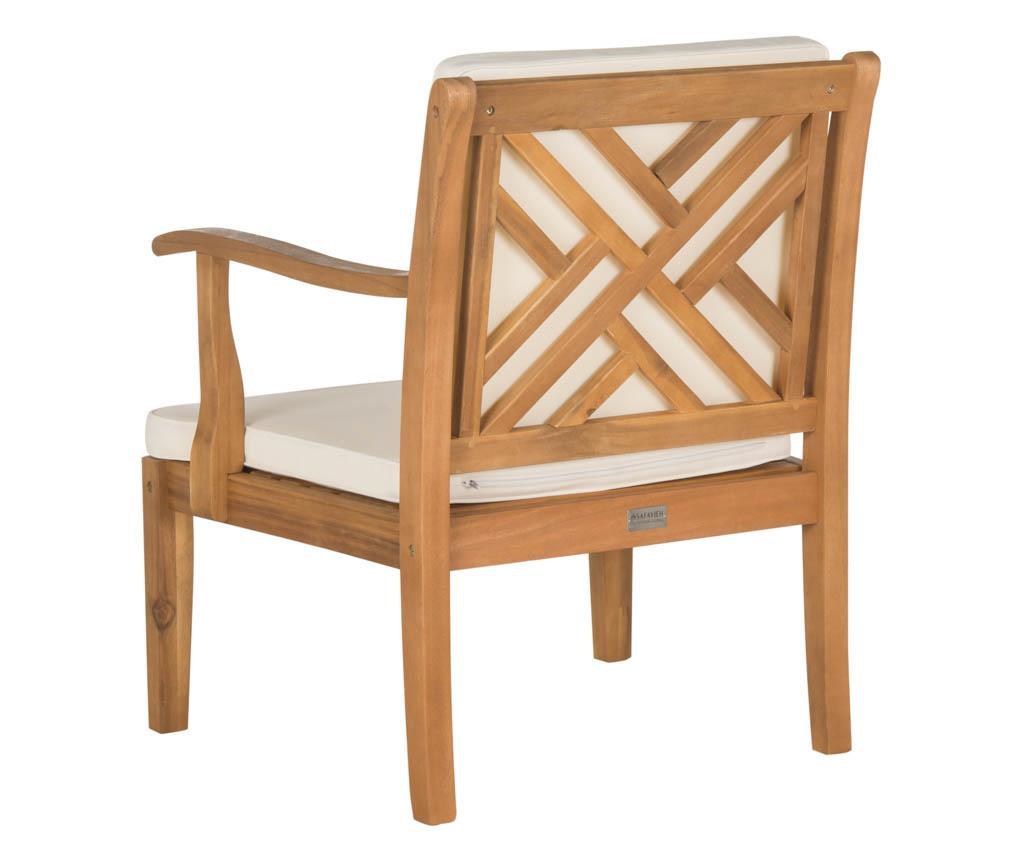 Set masa, 2 scaune si 1 banca pentru exterior Lugano