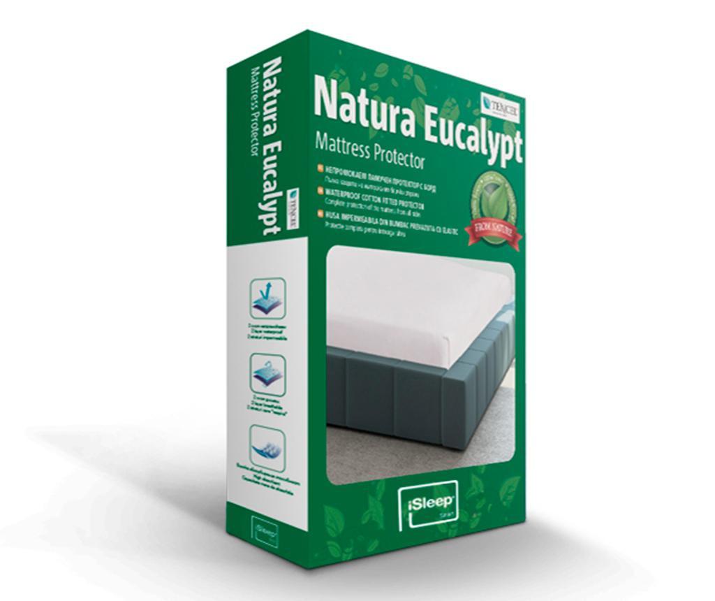 Vodoodporna zaščita za ležišče Natura Eucalipt 120x200 cm